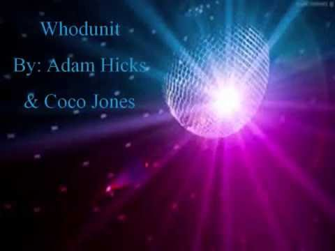 Whodunit - Adam Hicks & Coco Jones (Lyrics)
