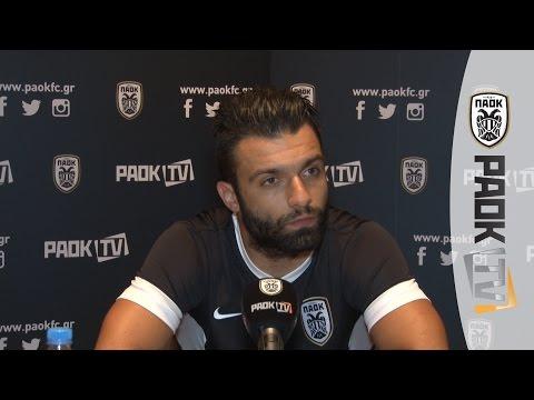 Η συνέντευξη του Γιώργου Τζαβέλλα στο PAOK TV