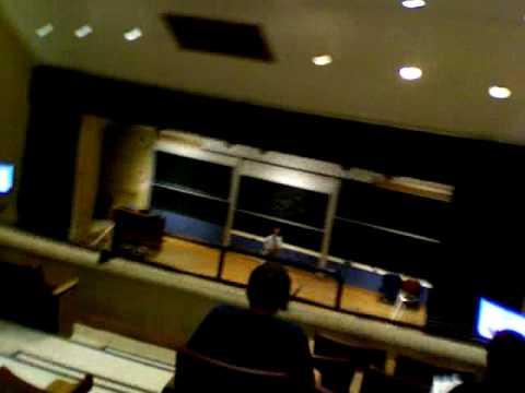Class! Monday morning at Georgetown University School of Medicine