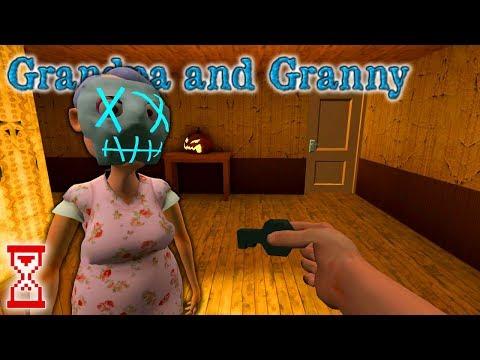 Прохождение первой Хэллоуинской главы   Grandpa And Granny Escape House
