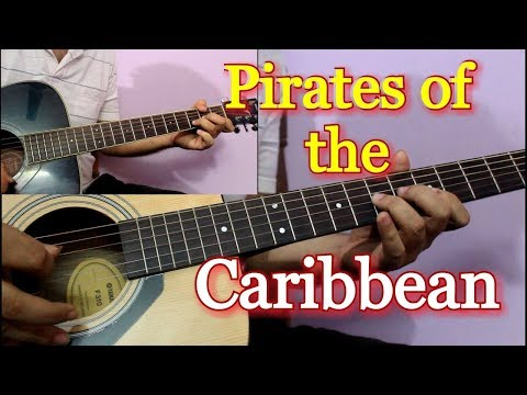 Pirates Of The Caribbean - Easy Guitar Tabs Lesson in Hindi