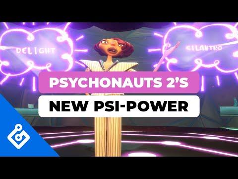 В новом геймплее Psychonauts 2 показали способности главного героя