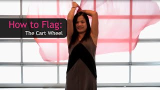 Worship & Praise Flags Teaching How to do The Cartwheel CALLED TO FLAG banners ft Claire