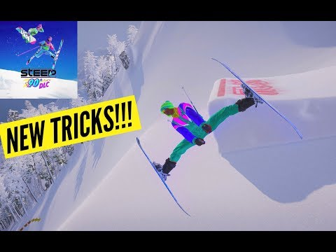 Steep | The 90s DLC Added CRAZY NEW TRICKS!