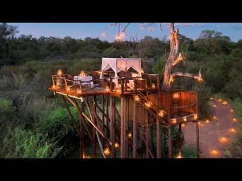 Open Air Resorts In Exotic Place In South Africa HD 2015