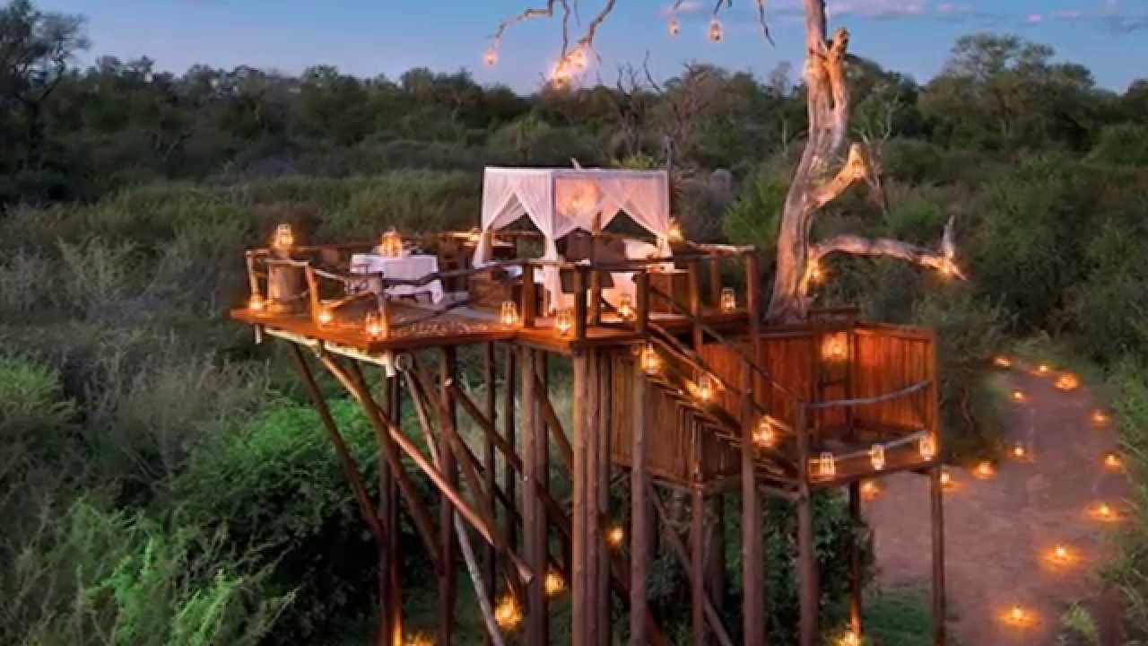 Exotic Tree Houses Open Air Resorts In Exotic Place In South Africa Hd 2015 Youtube