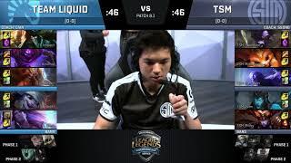 [S-VOD Review] TSM vs TeamLiquid WK1D1