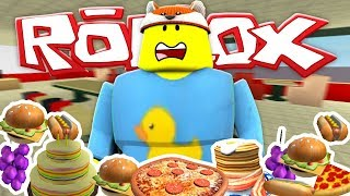 ROBLOX - DON'T GET EATEN BY THE FAT MAN!