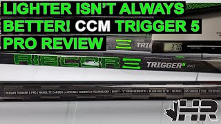 Can a hockey stick be too light CCM Trigger 5 Pro review