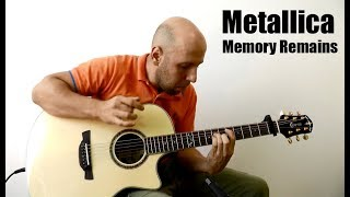 Memory Remains Metallica Fingerstyle Guitar
