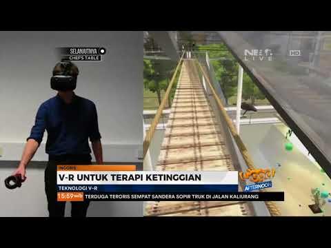 Virtual Reality Sebagai Terapi Mengurangi Phobia