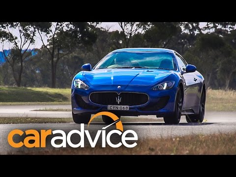 2015 Maserati GranTurismo MC Sport Review : track test