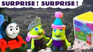 Thomas The Tank Engine loses a fun Peppa Pig Secret Surprise - The funny Funlings find it TT4U