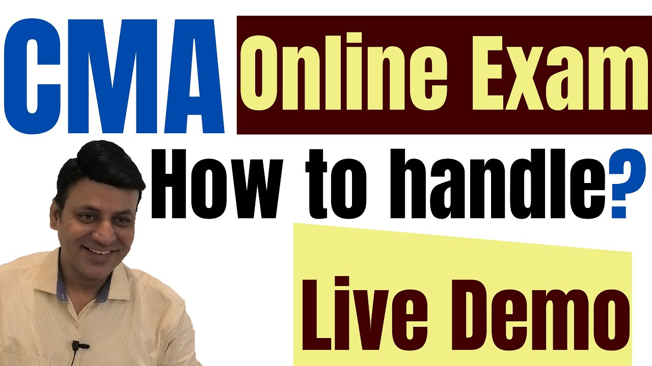 CMA Online Exam 📌Live Demo📌 How to Handle: Terms & Conditions
