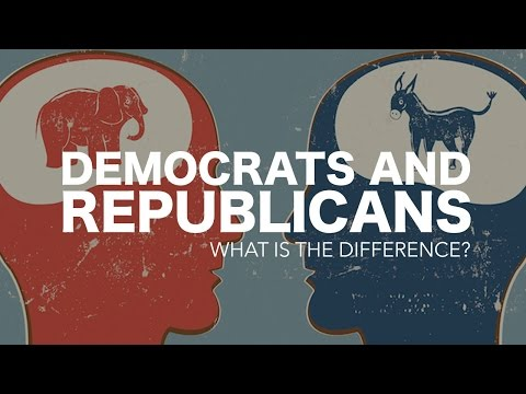 The difference between the Democrats and the Republicans