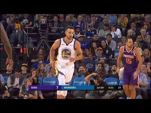 Golden State Warriors vs Phoenix Suns Full-Game Recap and Highlights - October 22, 2018 - NBA Game
