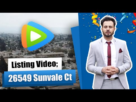 Listing Video; 26549 Sunvale Ct