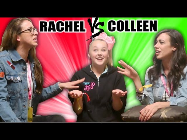 WHO KNOWS ME BETTER W/COLLEEN AND RACHEL!!