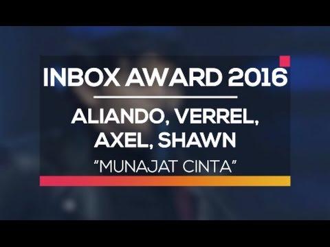 Aliando, Verrel, Axel dan Shawn - Munajat Cinta (Inbox Award 2016)