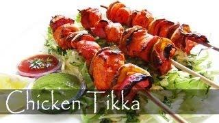 Chicken Tikka with Mint Chutney | Spicy Recipe