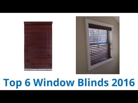 6 Best Window Blinds 2016