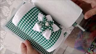 Fazendo Porta Papel Toalha com Material de Reciclagem
