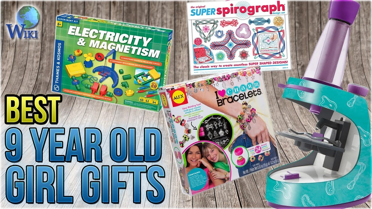 10 <b>Best 9</b> Year <b>Old</b> Girl <b>Gifts 2018</b> - YouTube