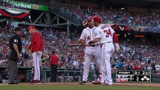 Harper, Williams get ejected in the 3rd