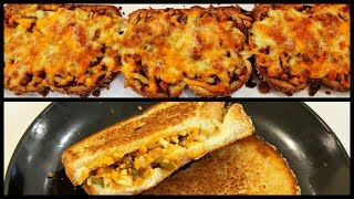 Paneer Cheese Bread Toast and Sandwich | Quick and easy cooking | Recipe by Mother