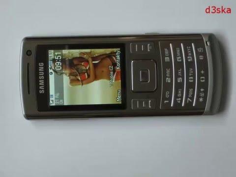Instalace aplikací na Samsung U800 soul (Česky)