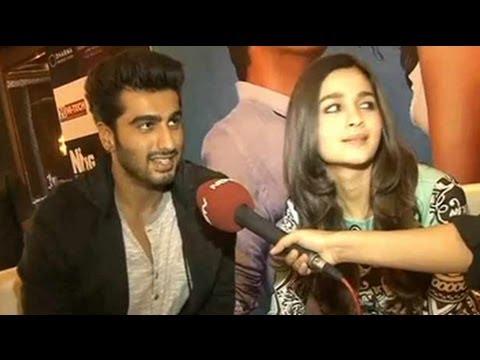 Alia, Arjun Promote 2 States In Delhi
