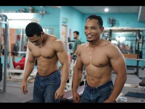 Biceps & Triceps Workout Tutorial by Zairul & I'yat (Episode 1)