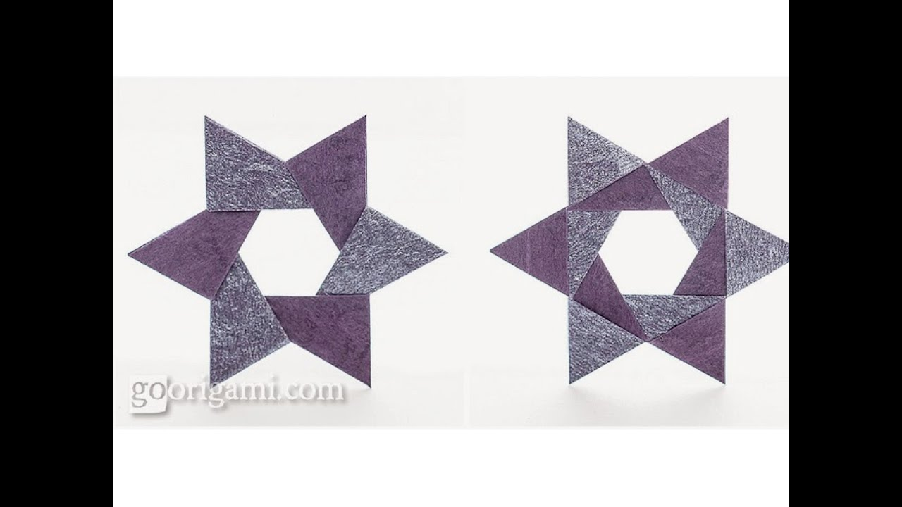 Christmas origami instructions hex star maria sinayskaya youtube - Origami Hex Star By Maria Sinayskaya