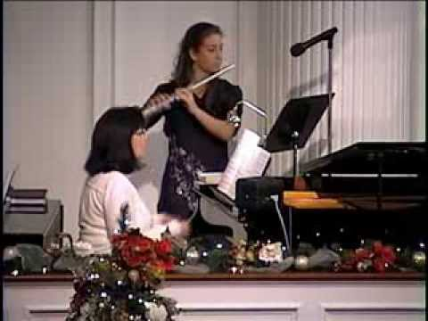 O Come, All Ye Faithful- Piano/Flute Offertory