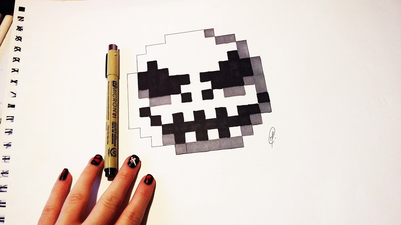 The Nightmare Before Christmas - Jack Pixel Art (on 10 minutes ...