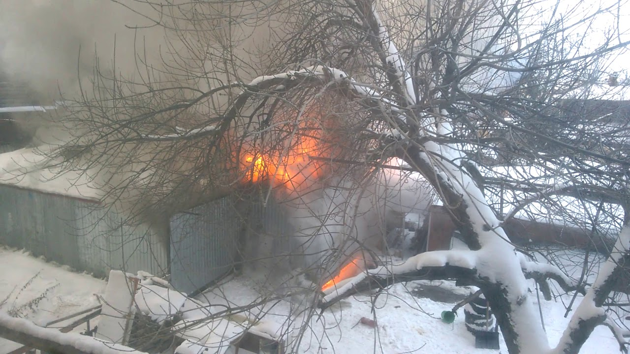 Пожар в Ульяновске
