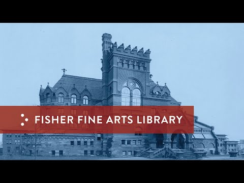 Architectural Masterpieces At Penn: Fisher Fine Arts Library