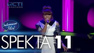 Download lagu GHEA ft. OSVALDORIO - SEWINDU (Tulus) - Spekta Show Top 5 - Indonesian Idol 2018