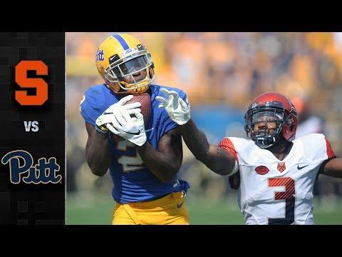 Syracuse vs. Pitt Football Highlights (2018)