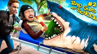 Bad Guys At School 2!  They Made Me DO THIS! (FGTeeV vs SHARK)