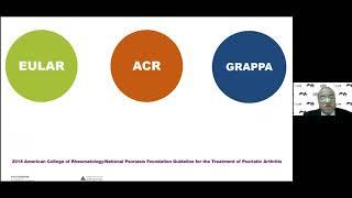 Adel Mahmoud    GRAPPA Psoriatic Arthritis Recommendations-Guideline