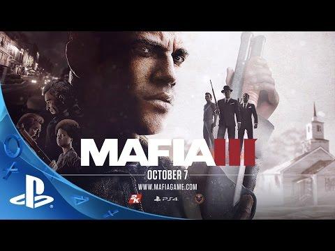 Mafia III - One Way Road Story Trailer   PS4