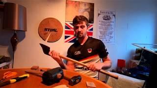Fundamentals of Axemanship part 4: Rehandling, Sharpening, Modification