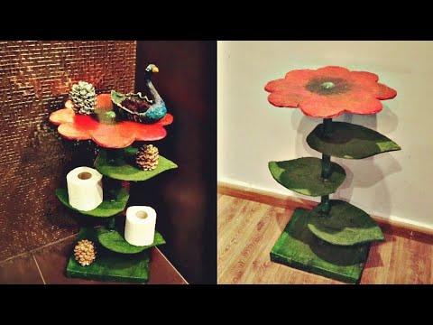 #bestoutofwaste, #cardboardfurniture, Best Out Of Waste / Cardboard Table Organizer :