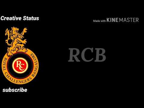 RCB WhatsApp status song 2018