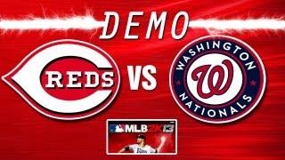 MLB 2K13 MOD (PC)-REDS @ NATIONALS