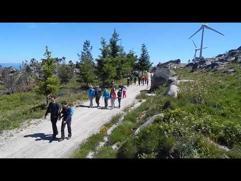 """Percurso Pedestre de Varzielas -"""" Entre o Granito e o Xisto""""  em 1/06/14"""