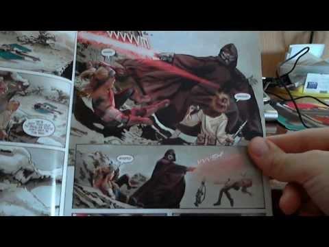 Распаковка посылки #6. (Комиксы Star Wars #1 и TMNT The Movie)