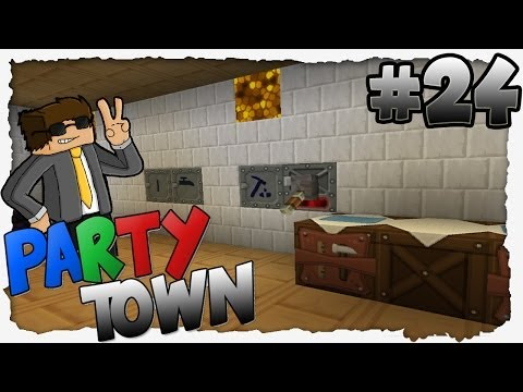 INDUCTION FURNACE + ROTARY MACERATOR! - Minecraft Party-Town #24 (FTB) | BDCrafter