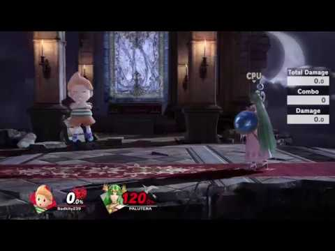 """Lucas PK Thunder """"Bounce"""" is not that bad! (Works with Ness too) [Smash Ultimate]"""